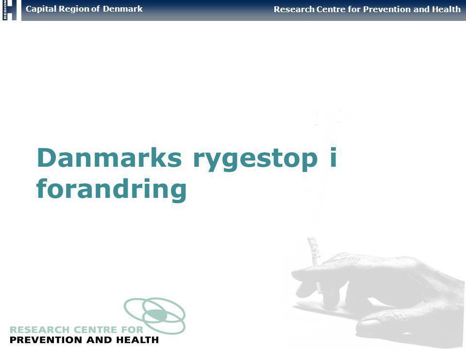 Danmarks rygestop i forandring