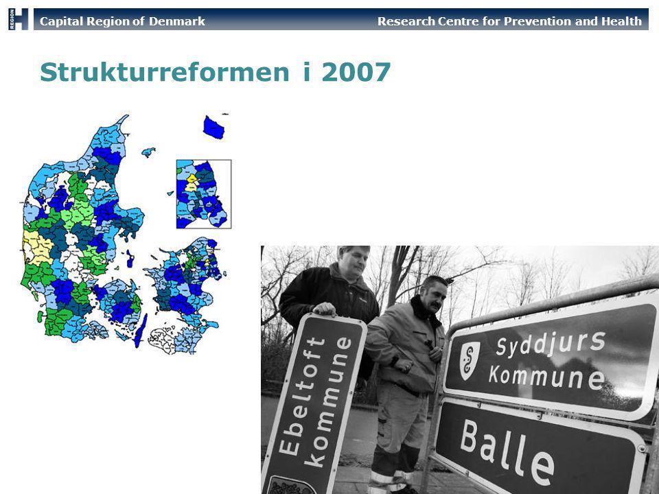 Strukturreformen i 2007