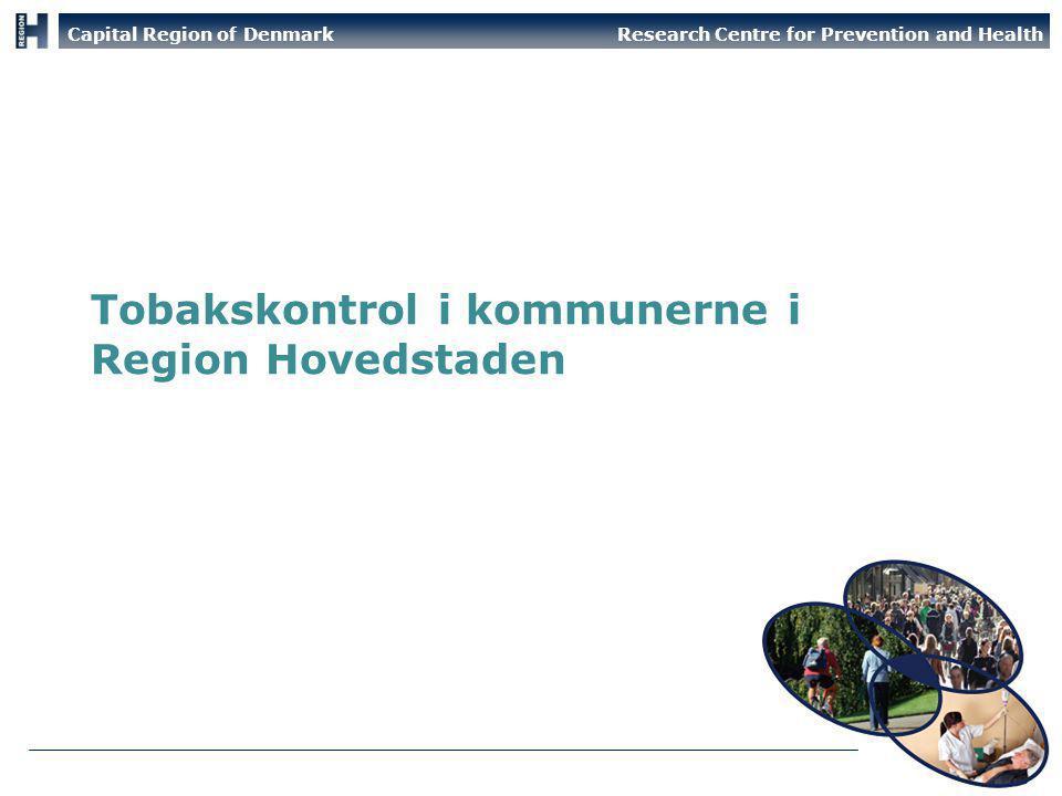 Tobakskontrol i kommunerne i Region Hovedstaden