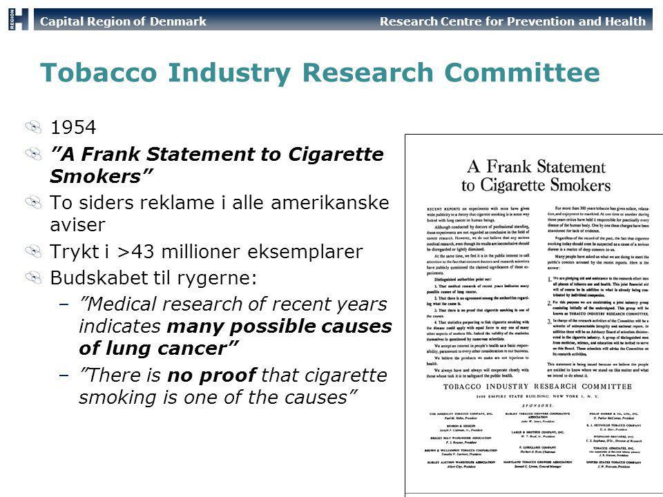 Tobacco Industry Research Committee