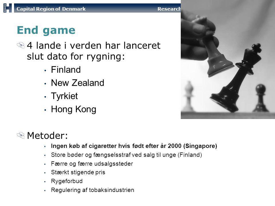 End game 4 lande i verden har lanceret slut dato for rygning: Finland