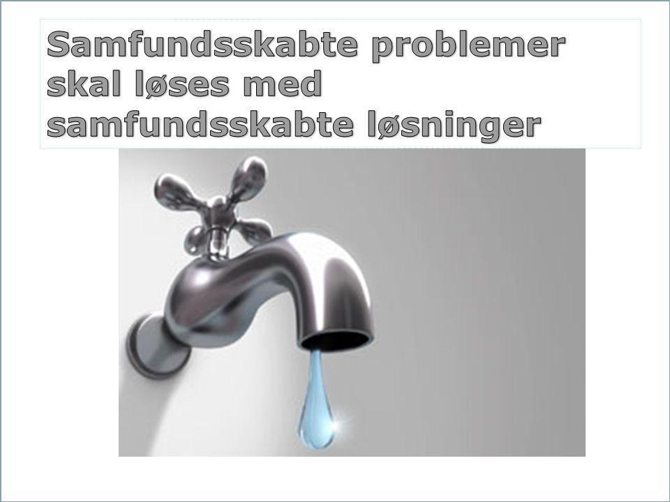 Samfundsskabte problemer skal løses med samfundsskabte løsninger