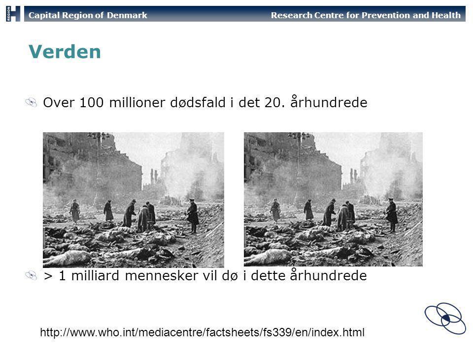 Verden Over 100 millioner dødsfald i det 20. århundrede