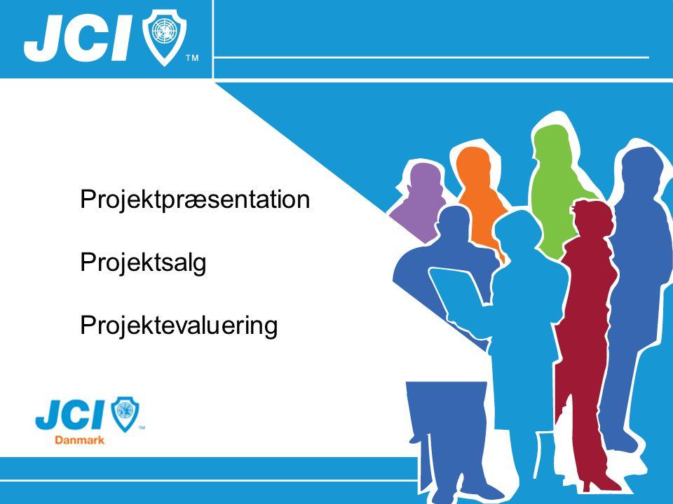 Projektpræsentation Projektsalg Projektevaluering