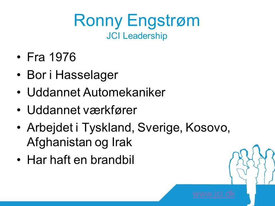 Ronny Engstrøm JCI Leadership