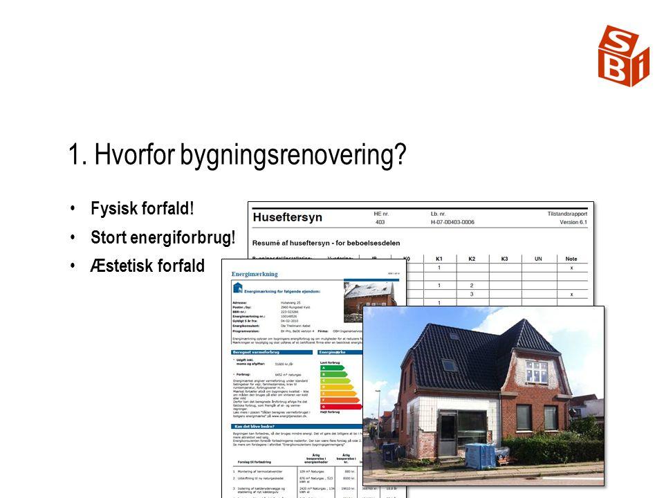 1. Hvorfor bygningsrenovering