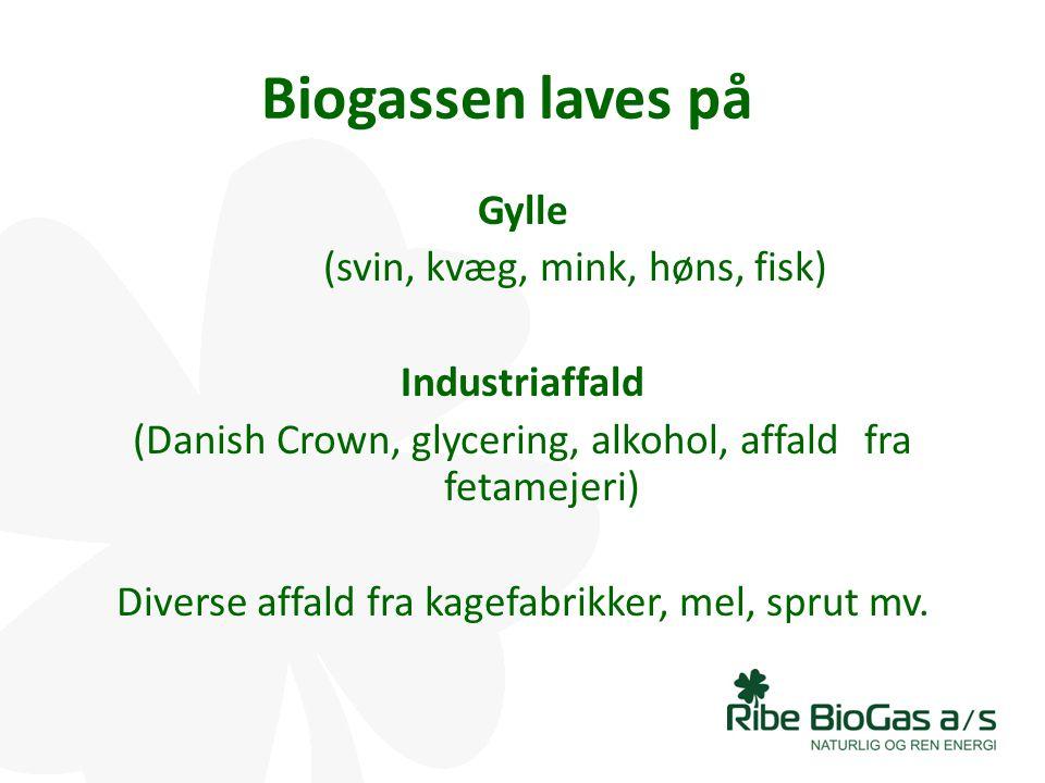 Biogassen laves på