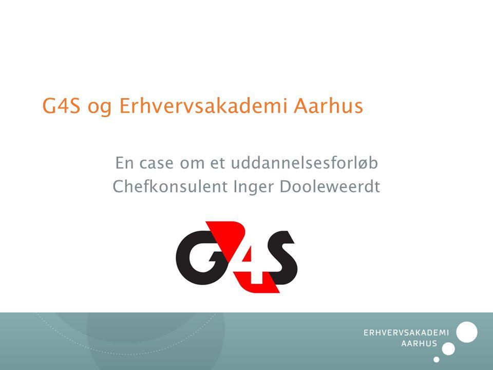 G4S og Erhvervsakademi Aarhus