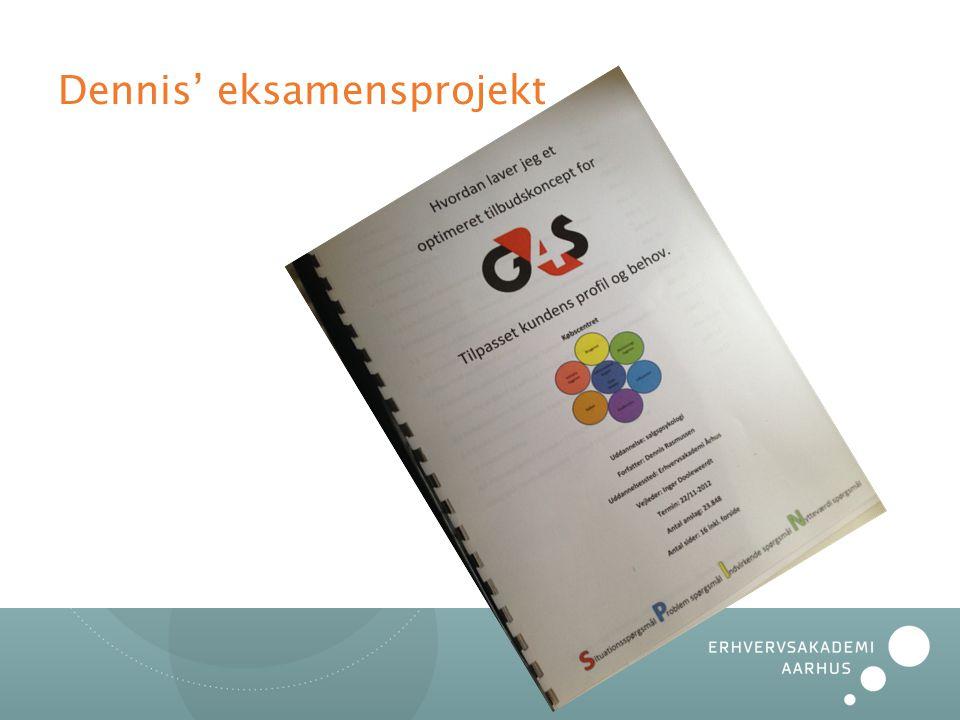 Dennis' eksamensprojekt