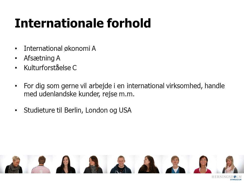 Internationale forhold