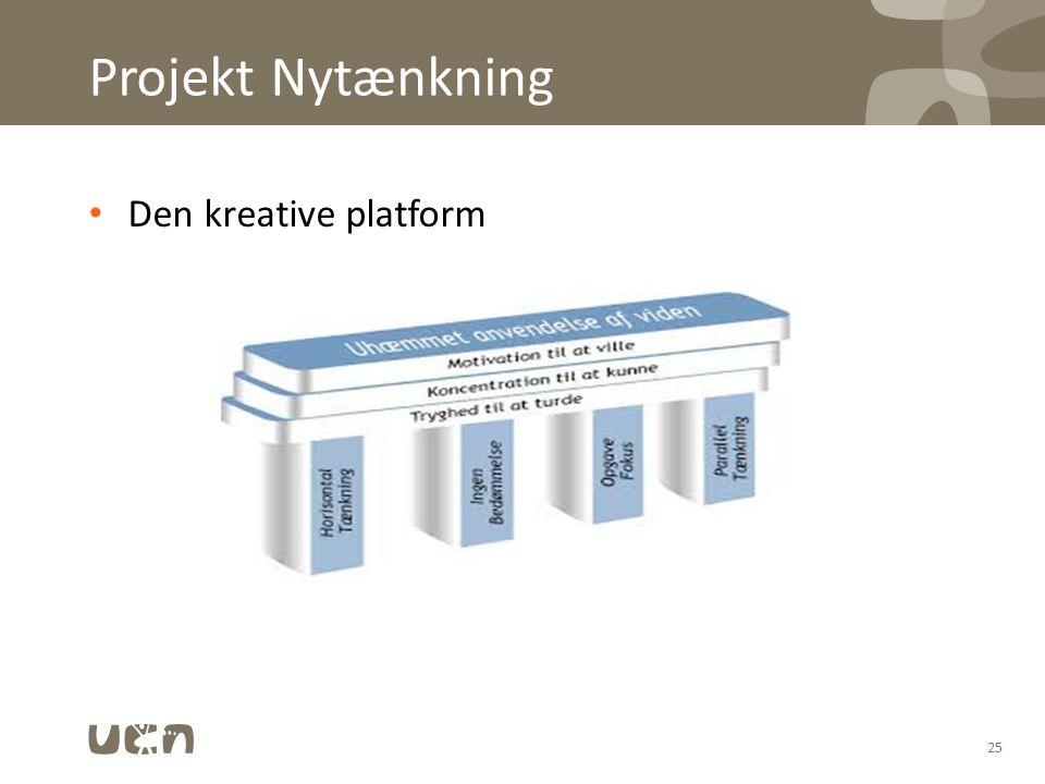 03-04-2017 Projekt Nytænkning Den kreative platform