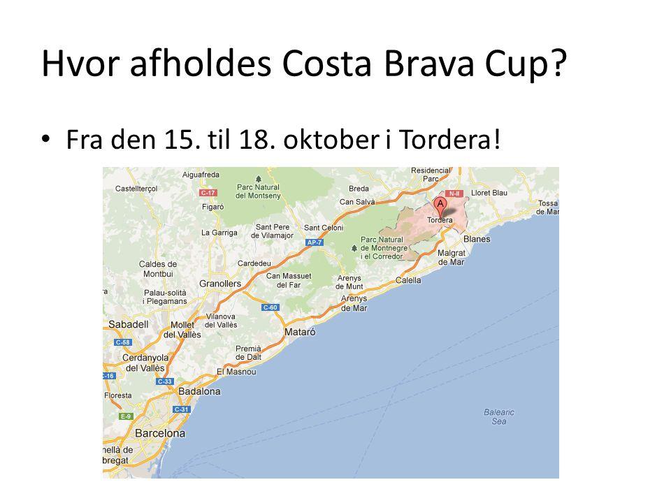 Hvor afholdes Costa Brava Cup