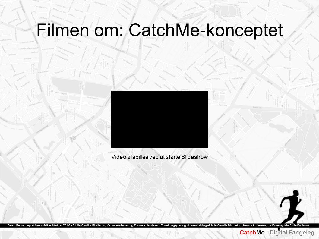 Filmen om: CatchMe-konceptet