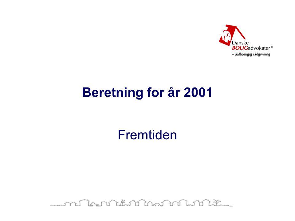 Beretning for år 2001 Fremtiden