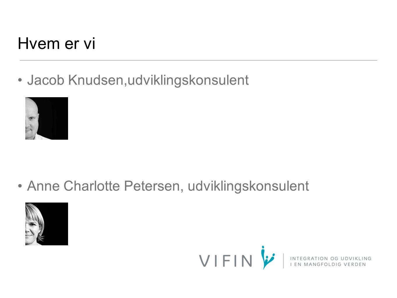 Hvem er vi Jacob Knudsen,udviklingskonsulent