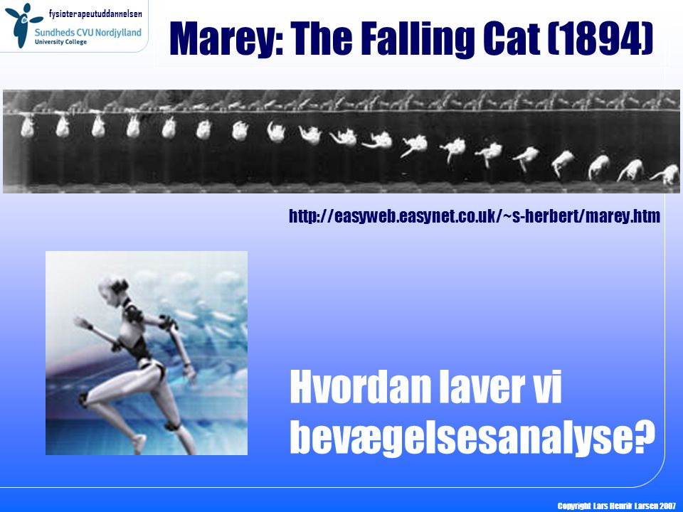 Marey: The Falling Cat (1894)