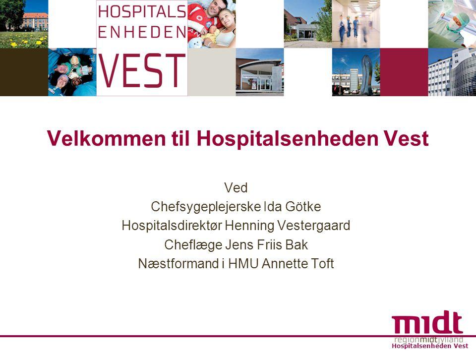 Velkommen til Hospitalsenheden Vest