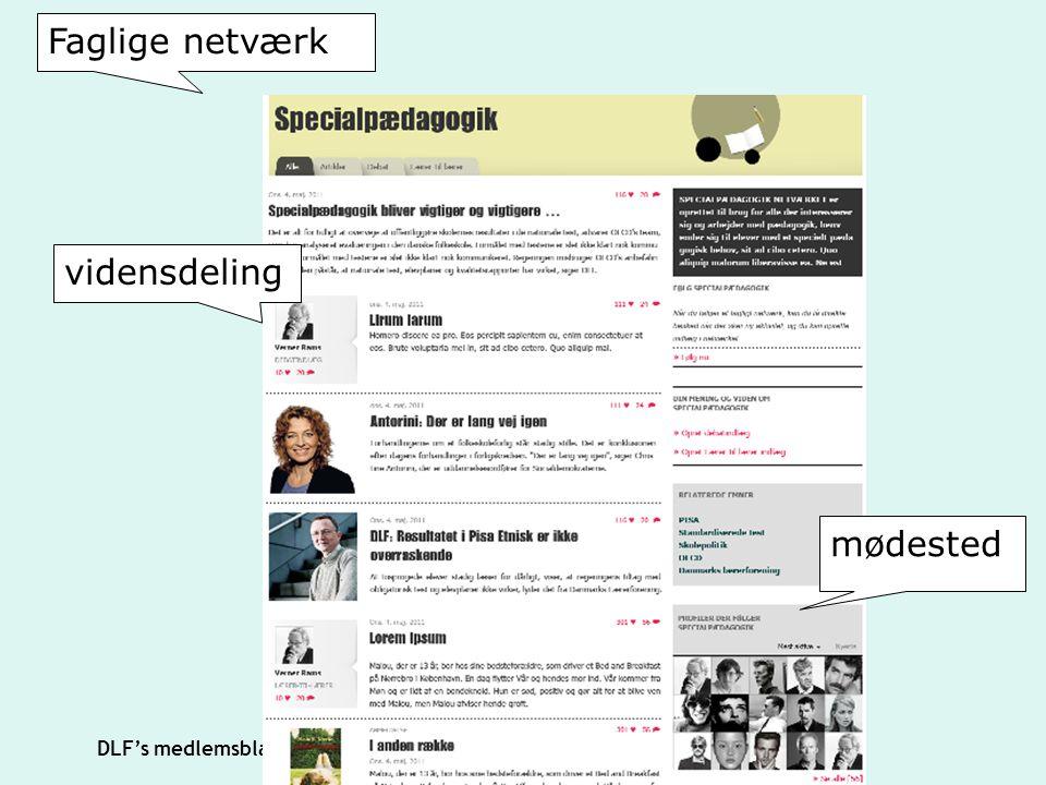 Faglige netværk vidensdeling mødested