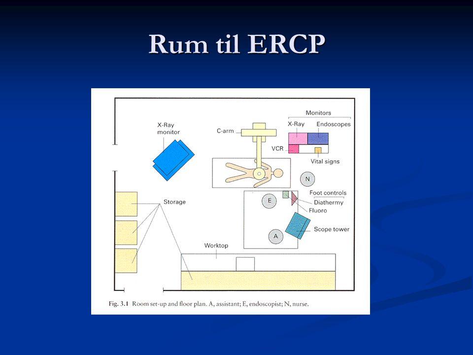 Rum til ERCP