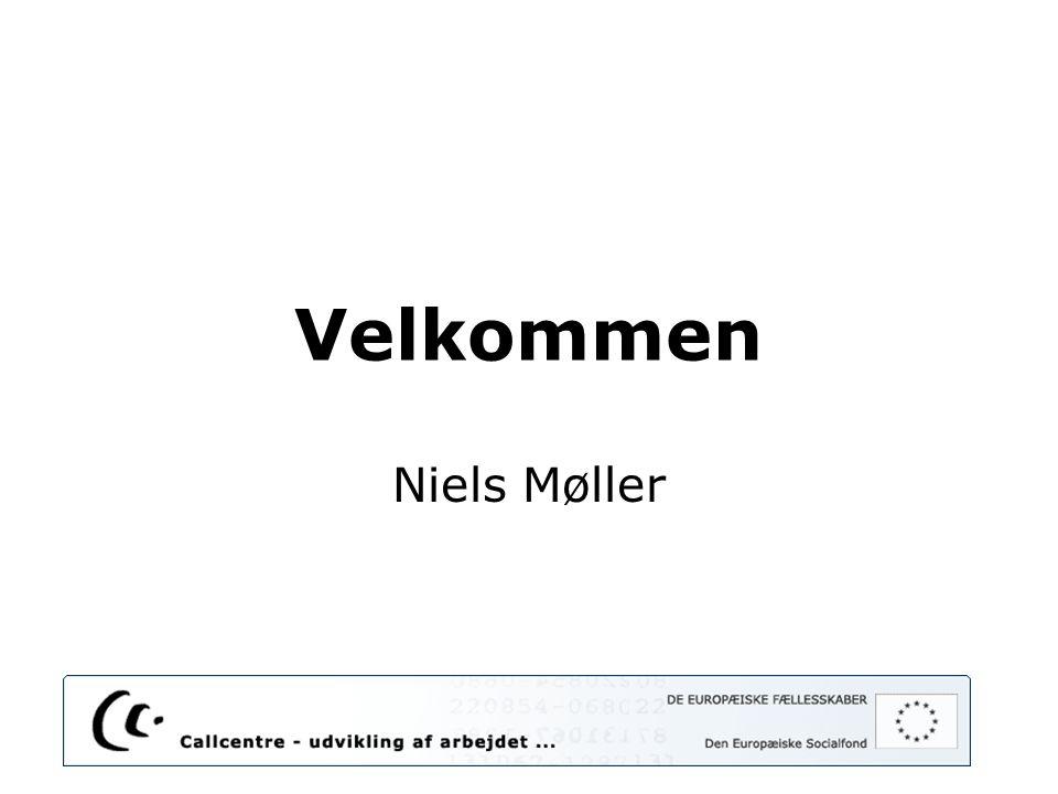 Velkommen Niels Møller