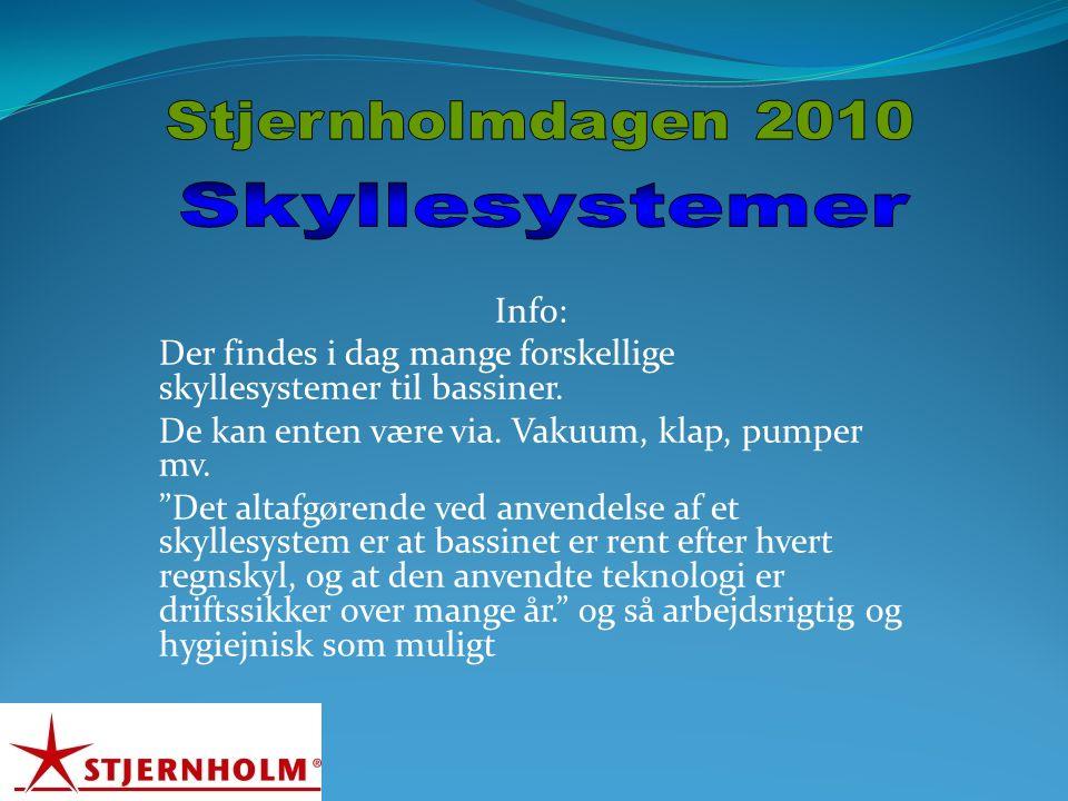 Skyllesystemer Stjernholmdagen 2010 Info: