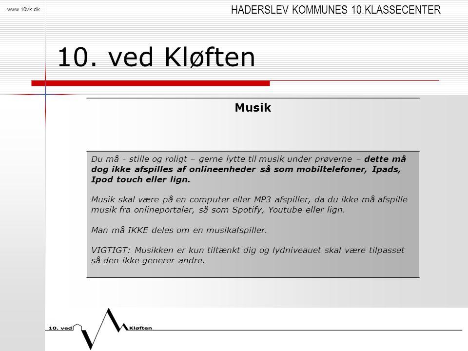10. ved Kløften Musik.