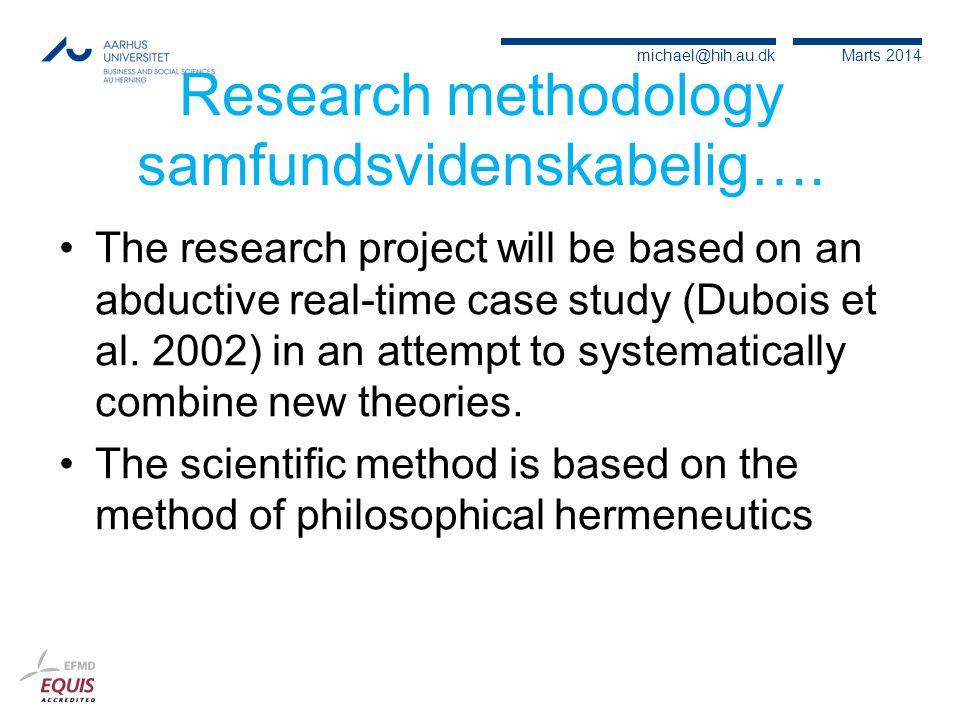 Research methodology samfundsvidenskabelig….