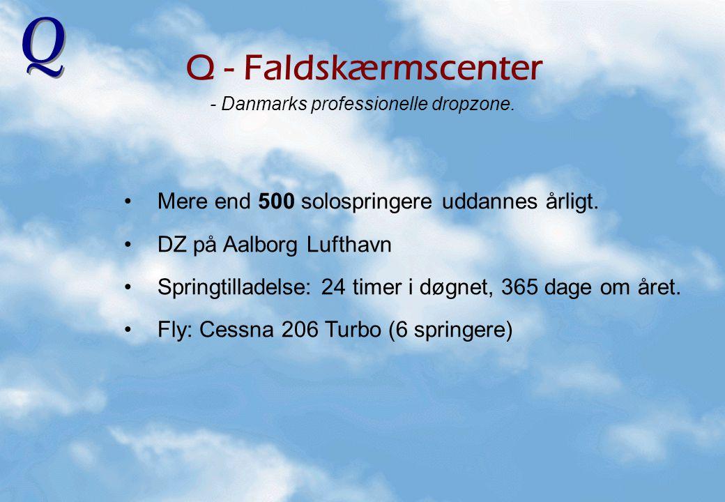 - Danmarks professionelle dropzone.