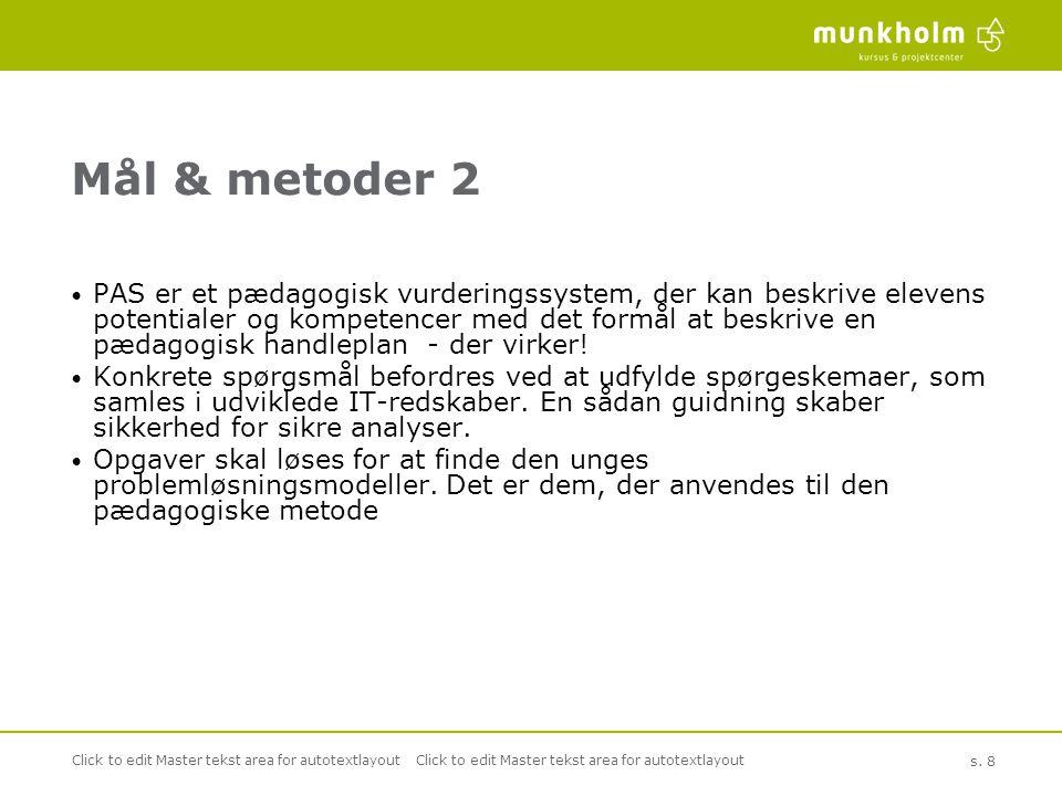 Mål & metoder 2