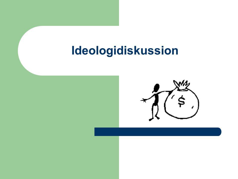 Ideologidiskussion