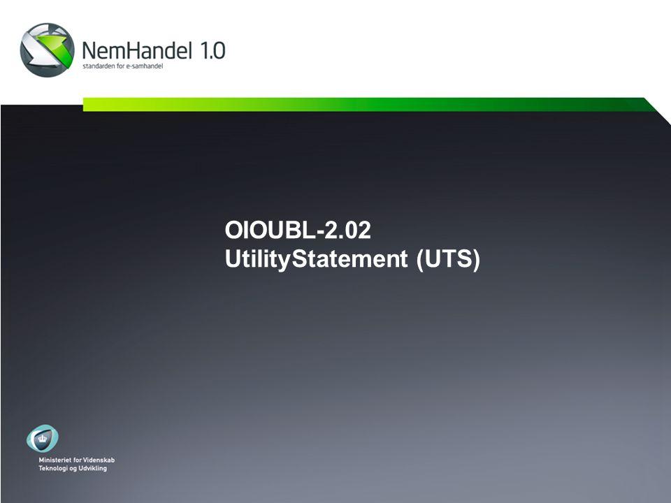 OIOUBL-2.02 UtilityStatement (UTS)