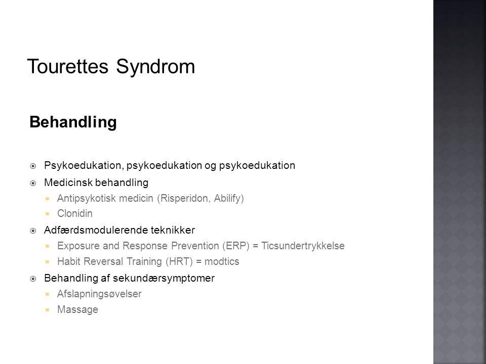 Tourettes Syndrom Behandling