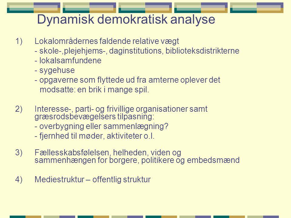 Dynamisk demokratisk analyse
