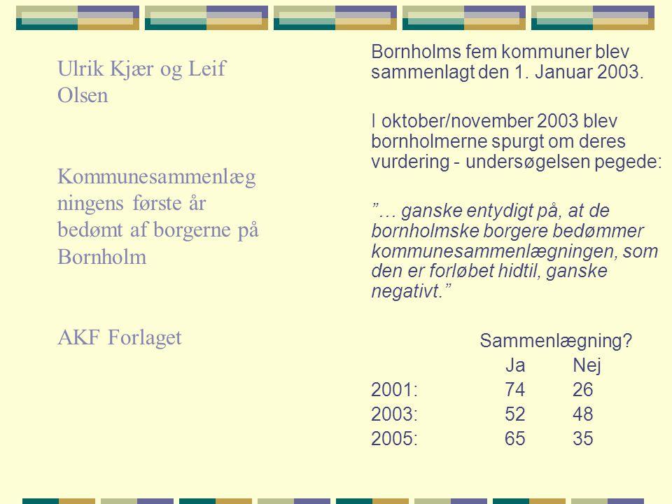 Ulrik Kjær og Leif Olsen