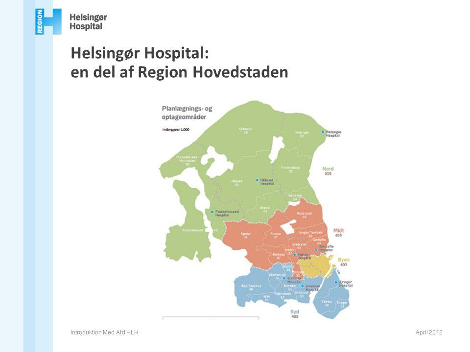 Helsingør Hospital: en del af Region Hovedstaden