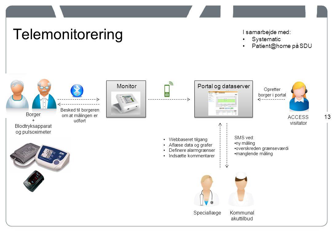 Telemonitorering I samarbejde med: Systematic Patient@home på SDU