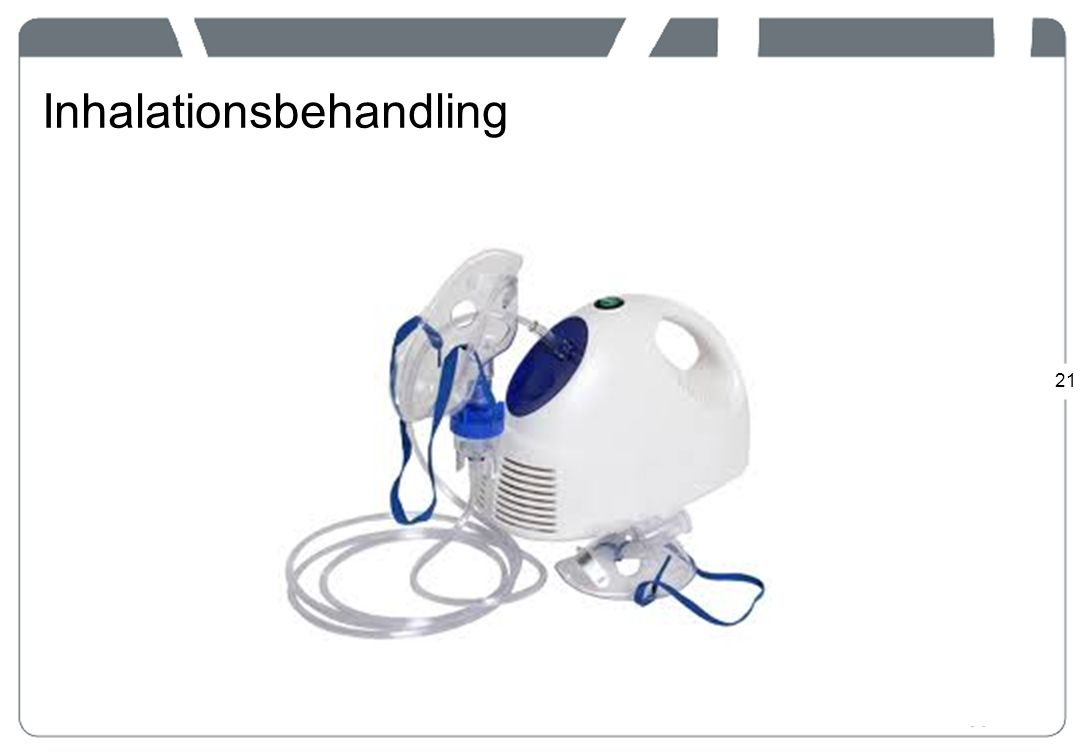 Inhalationsbehandling
