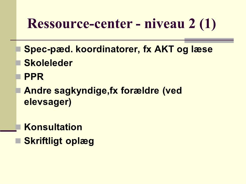 Ressource-center - niveau 2 (1)