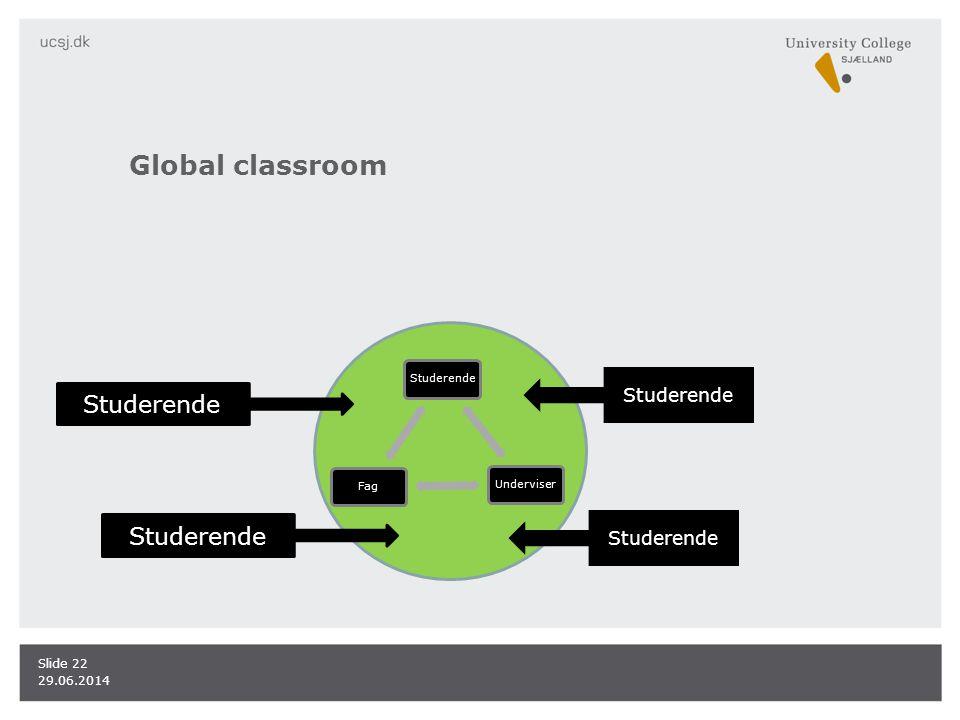 Global classroom Studerende Studerende Studerende Studerende