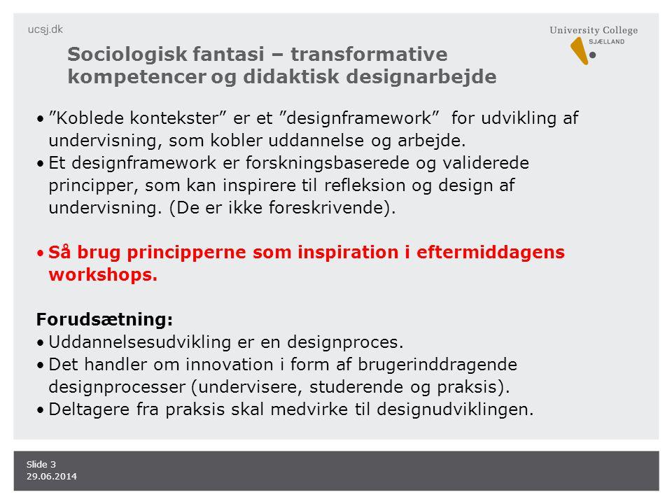 Sociologisk fantasi – transformative kompetencer og didaktisk designarbejde