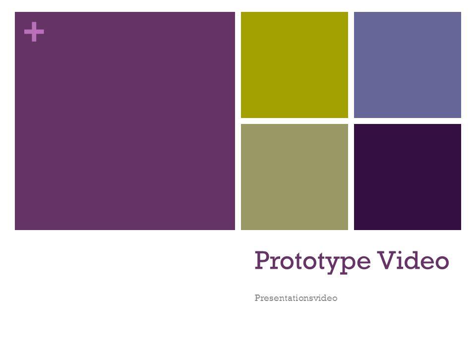 Prototype Video Presentationsvideo