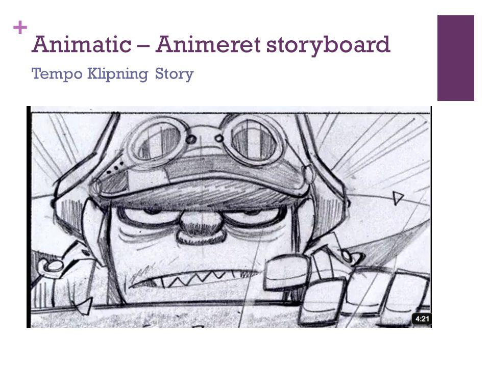 Animatic – Animeret storyboard