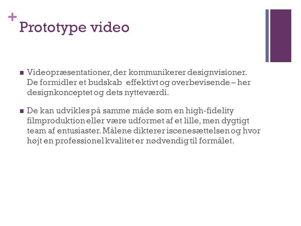 Prototype video