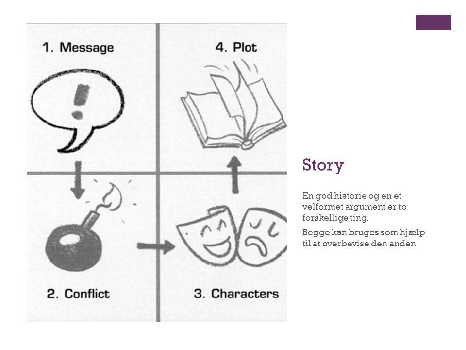Story En god historie og en et velformet argument er to forskellige ting.