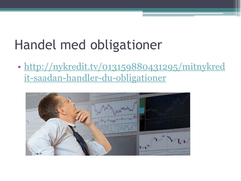 Handel med obligationer