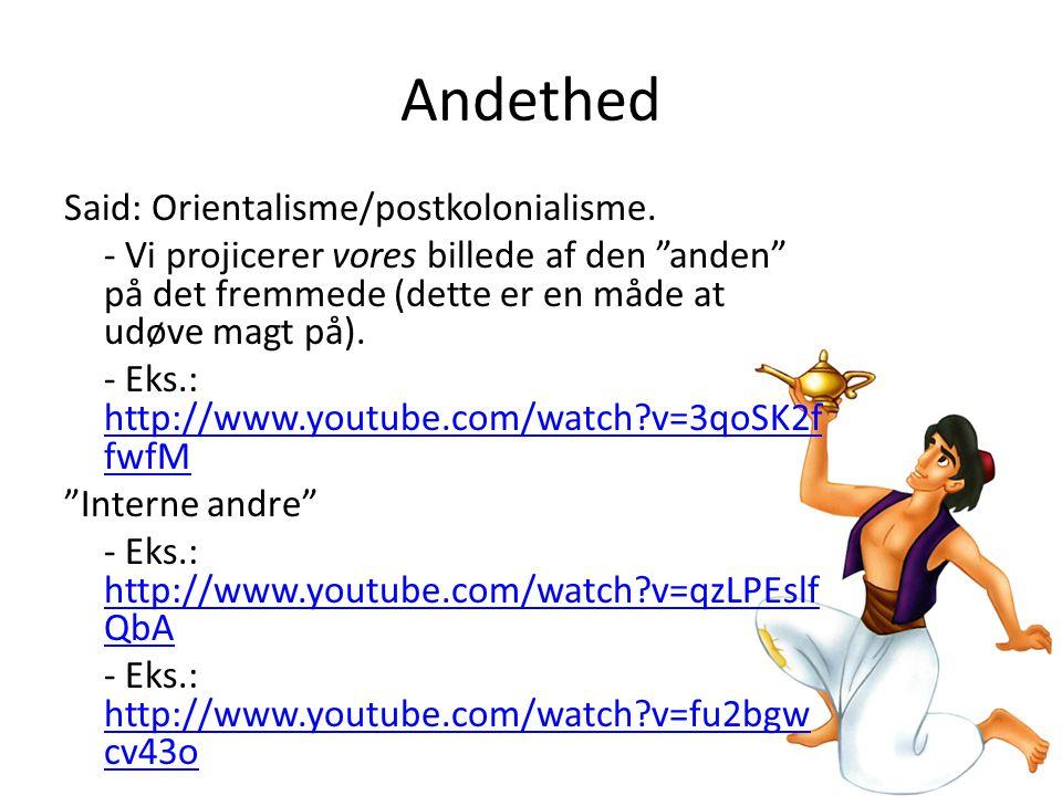 Andethed