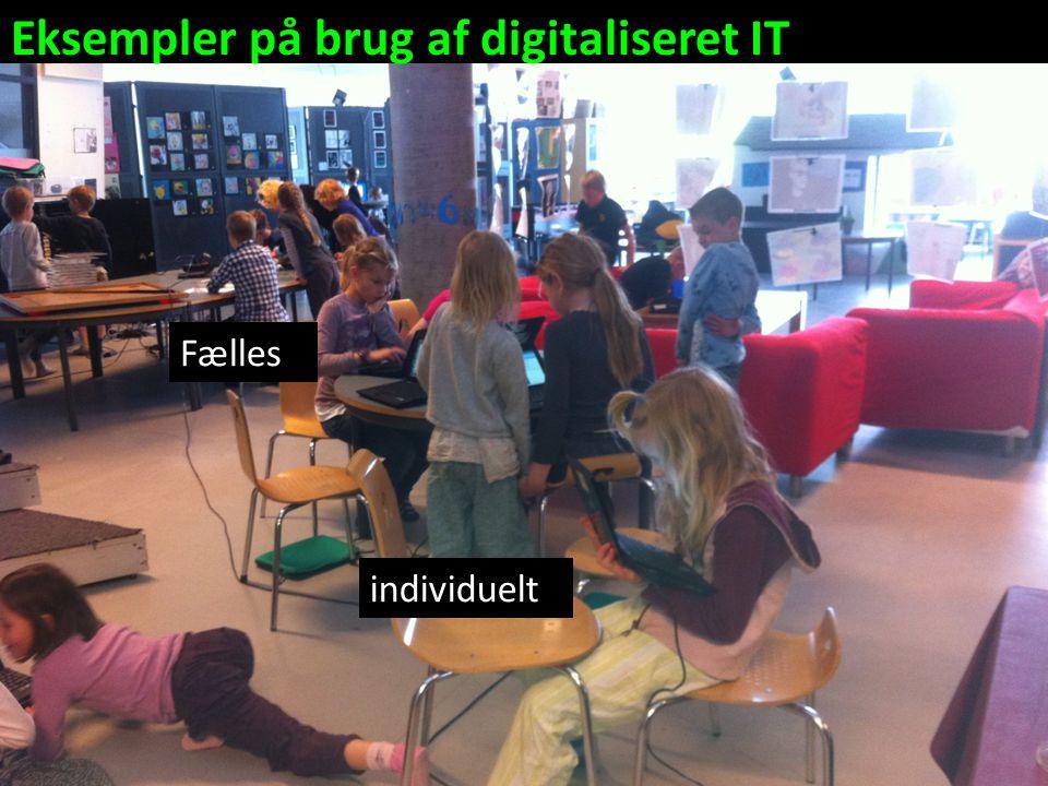 Eksempler på brug af digitaliseret IT