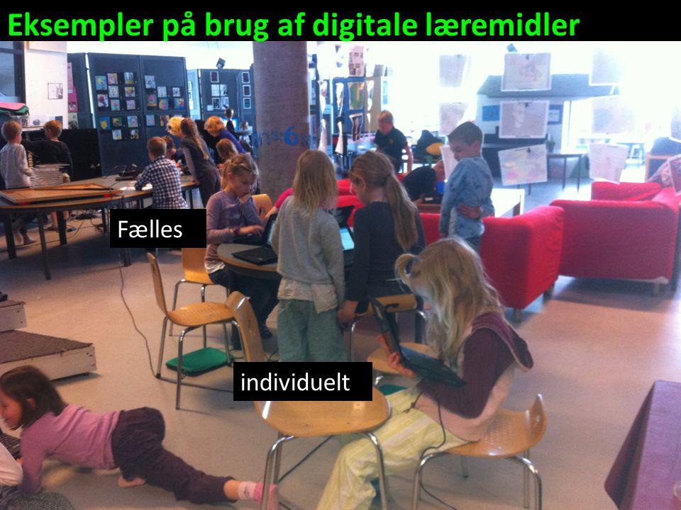 Eksempler på brug af digitale læremidler