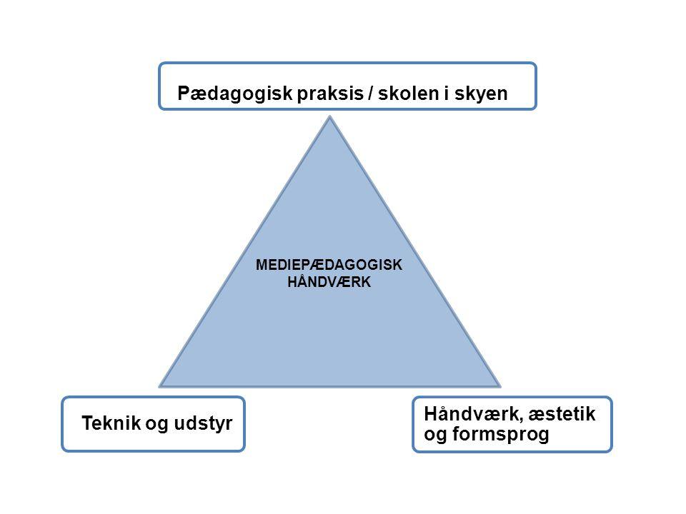 MEDIEPÆDAGOGISK HÅNDVÆRK
