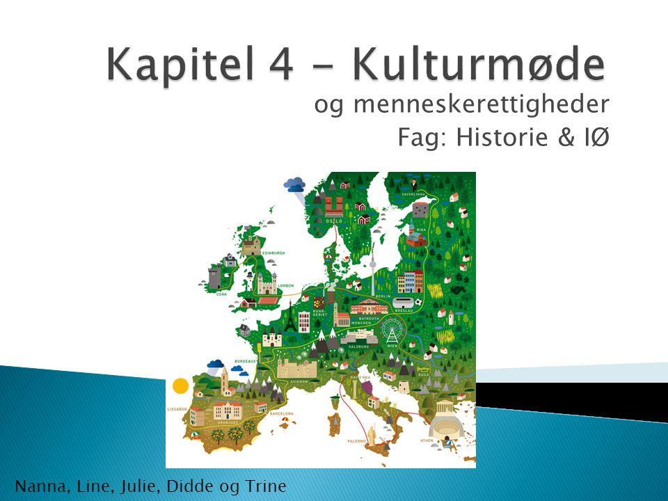 og menneskerettigheder Fag: Historie & IØ
